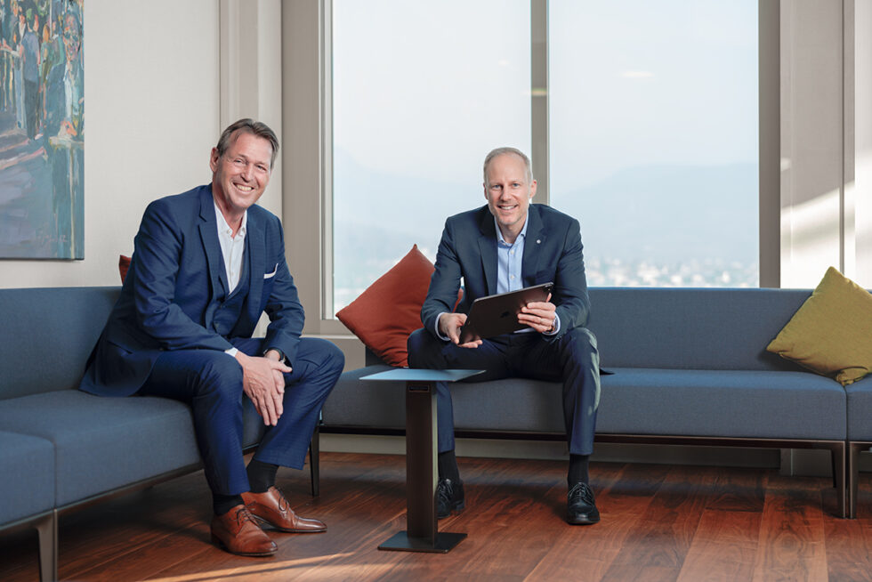 Urs-Peter Amrein, Presidente e Björn Wertli, Direttore